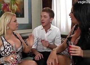 Two punishing young pornstars Nadia Carvalho Charlotte Rayne |