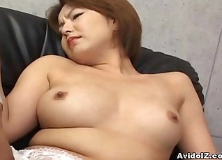 Horny Japanese Babe Teasing and Fingering Her Pussy |