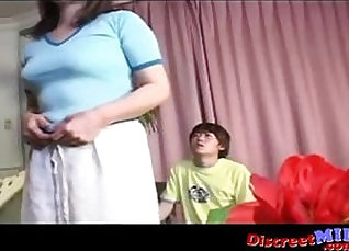 Hot Mother and Son Memorable Mature Cougar |
