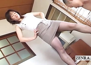 Japanese School Girl In Knees MILF Pantyhose dildoing and Fucking with Unanimous Fuck! |
