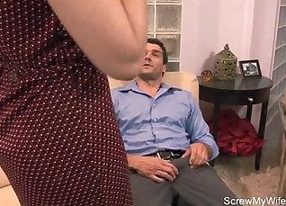 Brunette Hot Wife Pleasing Herself Seductive JOI  