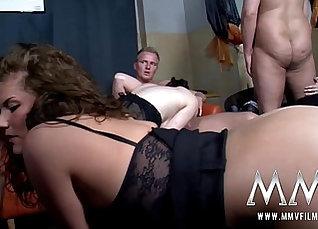 German Amateur Teen Makes her first fuck blowjobs  