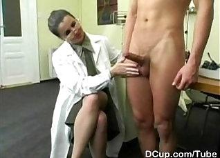 Busty black kinky nurse cum  