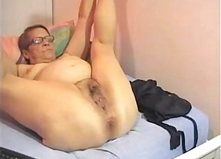 Fucking my titties in the bathroom  