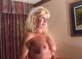 Big Boobed Blonde Loves An Interracial Mature Cock |