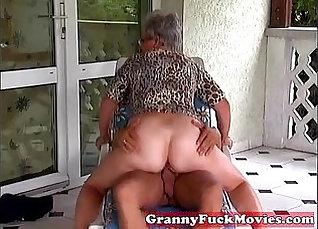 Grandma Averanged In Outdoor Gift Store |