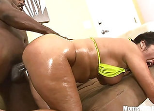 Big ass milf riding BBC for free when not hubby watching |