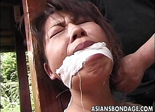 Asian Guy Getting Fucked By A Mature Cougar  