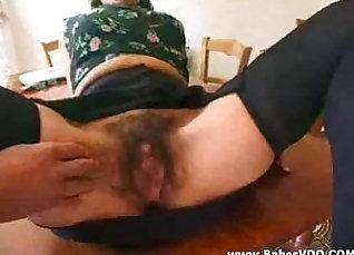 Curvy Hairy Man Fucks Her Partner With Wild Gagging  