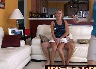 Perfect cock teaches ravenous daughter his love affair |