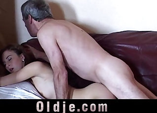 Grandpa Gets Hot First Time |