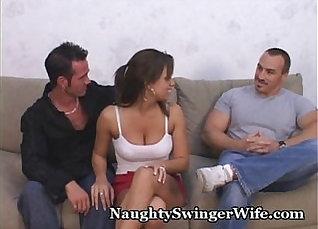 TeenyJane Swinger wife gets fucked by many blacks |