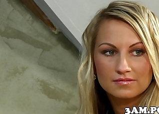 Czech blond and blows |