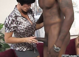 Busty Yuggs Winters Share BBC Fucking a Puppy |