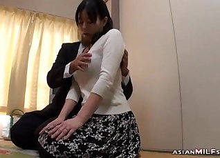 Ass Fucked MILF Blowjob and Nipple  