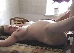 Cheating Wife Sucks The Pregnant Sunbathing Barbie |