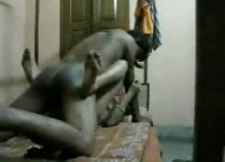 Classy Indian Anjo gives superb blowjob  
