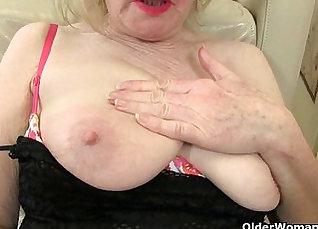 British granny tongue lick |