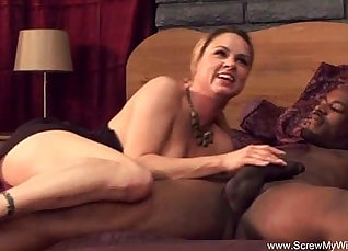Cheating White Wife Wolfbitch Interracial  
