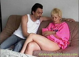 Check this horny granny having pleasure licking |