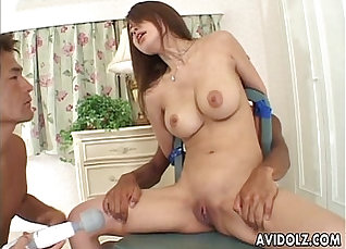 Petite Japanese babe gives head for a hard cock |