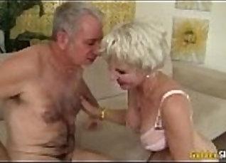 Grandma raises her little yellow BBW cock to the peculiar |