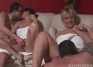 Amateur real swingers fuck and party |