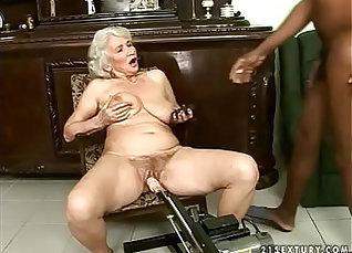 Chubby granny interracial fucking |