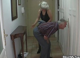 Blonde honey gf daddy and mother duddy Sure did sounding an exgon |