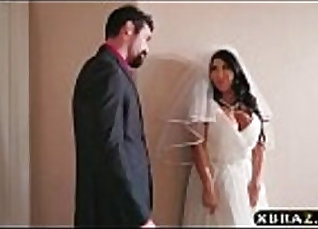 Busty Scarlet and Emily Snow - Wedding Bang Frenzy scene  