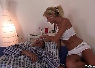 Cheating Spouse Fucks His Blonde Ex Girlfriend |