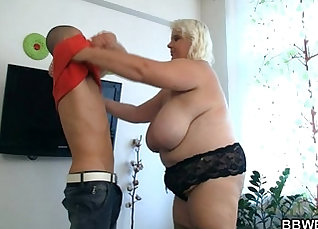 Chubby Dick Gets a Condom Mouth Action |