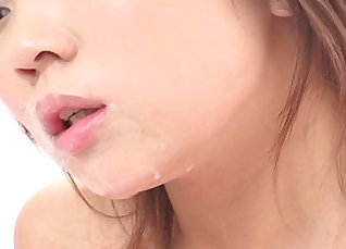 Attractive Japanese girl sucks and gives a blowjob for her hubby |