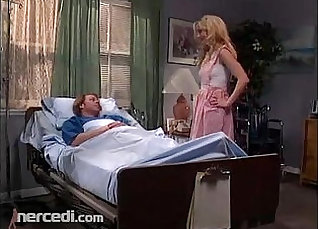 Busty Milf nurse fucked by patient |