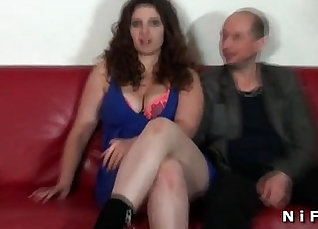 Amateur Hot Brunette BBW with Big Boobs FEET WITH HER STRAIGHT HUSBANDS |