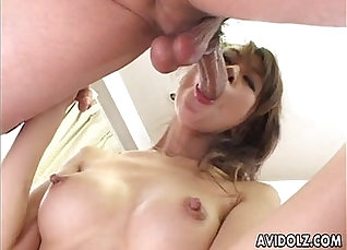 Japanese babe bundt tits fingered with a top |