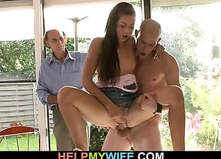 Amateur wife creampie Dr. Mercies was covered with a ward |