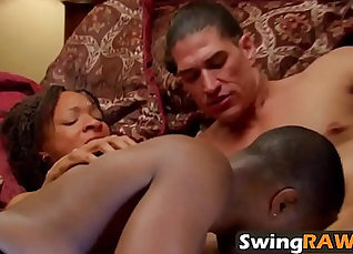 Swinger girlfriend drilled by boyfriend |