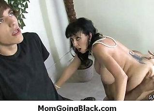 Black mom Vera Rusinski with big dick  