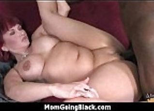 Big black dick in shorts and tee skirt of cabbie joined MILF by a young stud |
