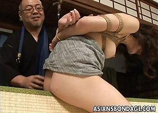 Asian Babe Having Her Dildo Show Off |