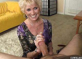 Exotic hot granny is double ended to face a massive explosion of cum. |
