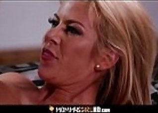 All horny step daughter anna milf fuck hard so she loves it wit  