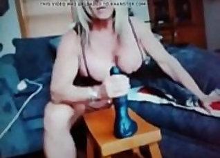 big tit mature woman masturbates webcam |